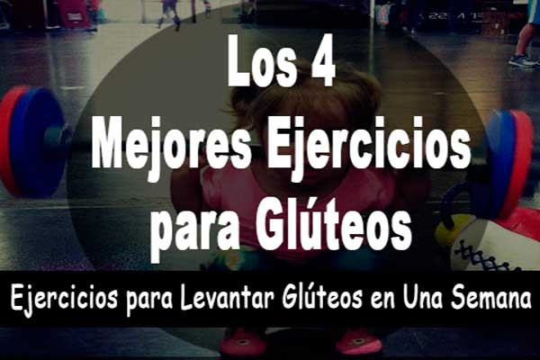 ejercicios para levaantar gluteos en una semana